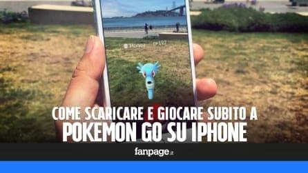 Come scaricare e giocare subito (in Italia) a Pokemon Go su iPhone
