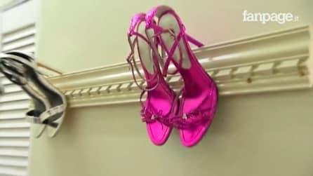 Un sistema geniale per tenere in ordine le scarpe: l'idea geniale che vi conquiesterà
