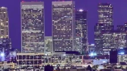 Los Angeles come non l'avete mai vista: le immagini spettacolari del time-lapse in 12k
