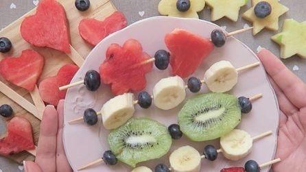 Come preprare delle originali decorazioni di frutta