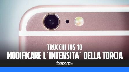 Trucchi iPhone: come modificare l'intensità della torcia con il 3D Touch