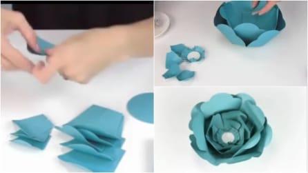 Come realizzare fiori di carta in modo semplice e veloce