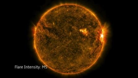 La tempesta solare che potrebbe interrompere le trasmissioni radio