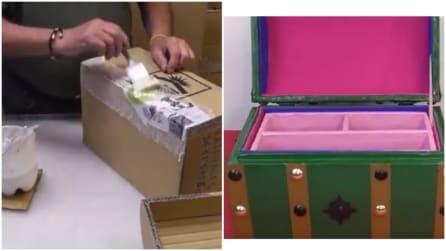Come creare un portagioielli utilizzando solo della cartapesta: la tecnica è semplicissima