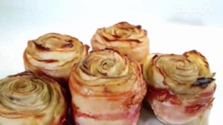 Rose di patate al forno: la ricetta facile per un contorno sfizioso