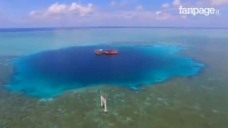 """Cina, scoperto il cratere marino più profondo al mondo: ecco """"The Eye"""""""