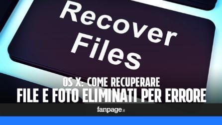 Recuperare file e foto cancellate dalle SD (e da tutte le memorie) con il Mac