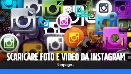 Trucchi Instagram: come scaricare foto e video da Instagram