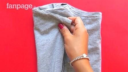 Cosa significa il modo in cui pieghi una maglia?