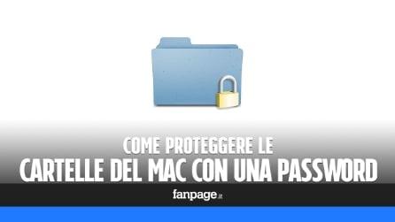 Proteggere una cartella Mac con una password