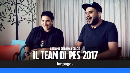 Abbiamo sfidato a calcio il team di PES 2017