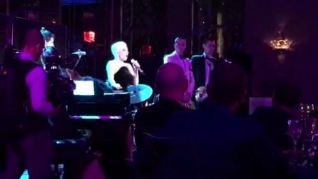 Lady Gaga canta 'O sole mio alla festa dei 90 anni di Tony Bennet