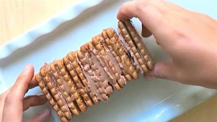 La torta di biscotti: semplice e da leccarsi i baffi