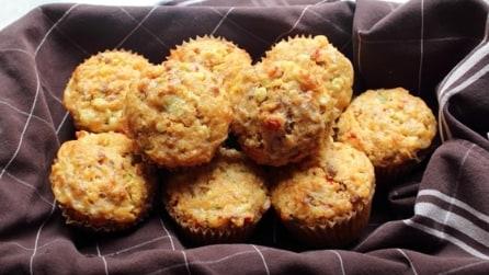 Muffin salati con salsiccia e mais: la ricetta facile e gustosa