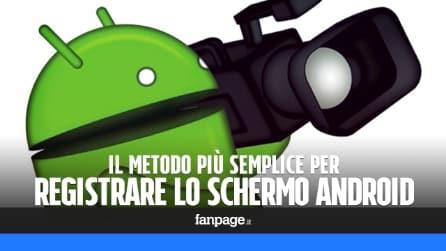 Come registrare lo schermo del cellulare Android