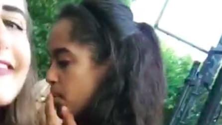 Malia Obama fuma al Lollapalooza Festival 2016