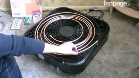 Come trasformare un semplice ventilatore in un condizionatore: un progetto davvero utile