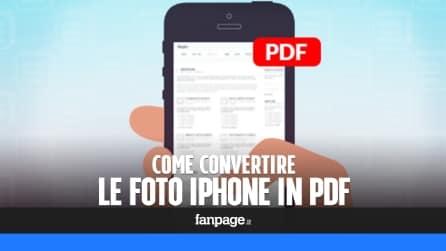 Trucchi Mac: convertire foto iPhone in PDF gratis