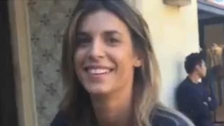 """Elisabetta Canalis scherza con Maddalena Corvaglia: """"La sera mi piace prendere un bel ca..."""""""