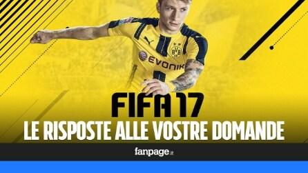 FIFA 17, le risposte alle vostre domande sulla simulazione calcistica di EA