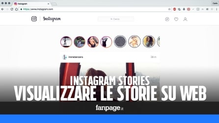 Come vedere le Storie di Instagram anche con il computer