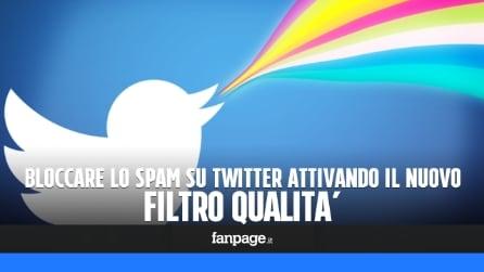 Filtro qualità su Twitter: come bloccare i tweet di spam, di bot e di pubblicità