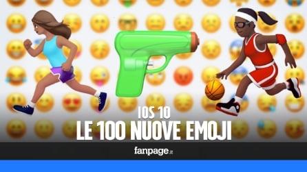 Le nuove emoji di iOS 10