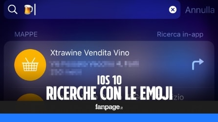 Trucchi iPhone: in iOS 10 le ricerche si fanno con le Emoji