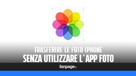 Trasferire (e salvare in una cartella) foto da iPhone a Mac senza usare Foto