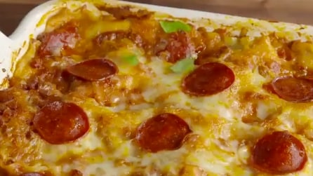 La Pizzagna, il piatto metà pizza e metà lasagna che fa impazzire gli americani