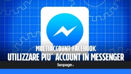 Utilizzare più account in Facebook Messenger