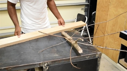 Prende un ramo secco e lo ricicla in modo sorprendente: un'idea utile per la casa