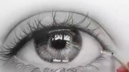 Sembra una foto ma resterete sorpresi: la tecnica di questa artista vi incanterà