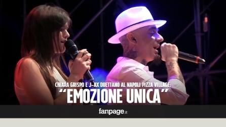 """Chiara Grispo sul palco con J-Ax: """"Fuori da Amici la differenza la fai tu"""""""