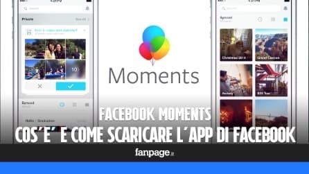 Facebook Moments disponibile per il download in Italia: come funziona e a cosa serve