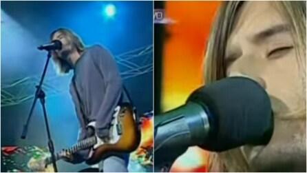 Kurt Cobain è tornato? Il sosia sale sul palco e fa impazzire i fan