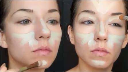 Traccia delle insolite linee sul volto: il motivo vi stupirà