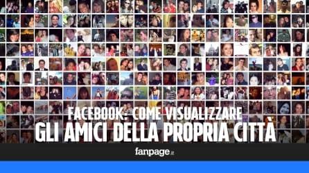 Facebook: come visualizzare solo gli amici della propria città