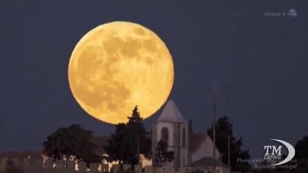 In arrivo la Super luna di settembre