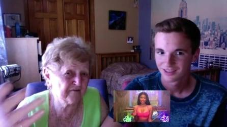 Guarda il video di Anaconda di Nicki Minaj col nipote, ecco la reazione inaspettata della nonna