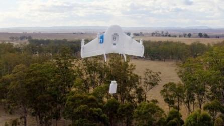 Ecco i droni di Google per le consegne a domicilio