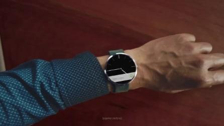 Moto 360, ufficiale il primo smartwatch con display circolare