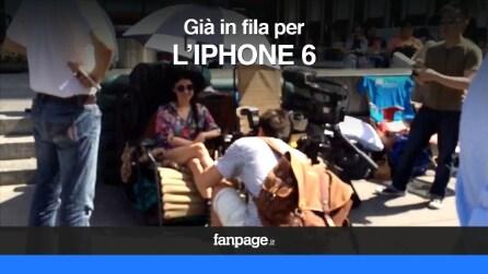 iPhone 6, prosegue la fila all'Apple Store di New York