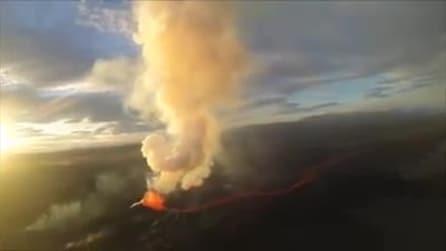 Islanda, continua l'eruzione del vulcano Holuhraun: sale l'allerta