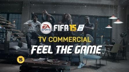FIFA 15, lo spettacolare spot televisivo