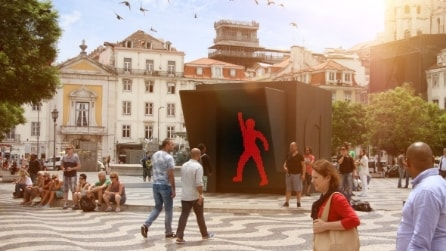 The Dancing Traffic Light: l'omino del semaforo che balla