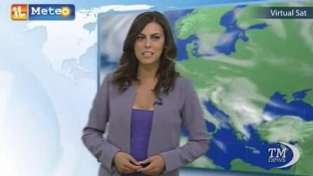 Le previsioni meteo per giovedì 18 settembre