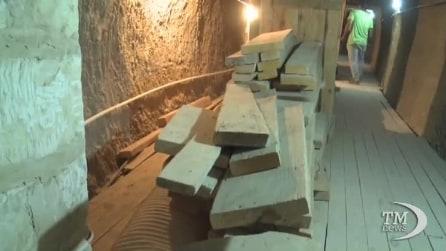 Cairo, crolli alla piramide di Saqqara: sotto accusa il restauro