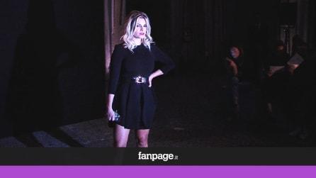 Emma Marrone, star alla sfilata milanese di Scognamiglio