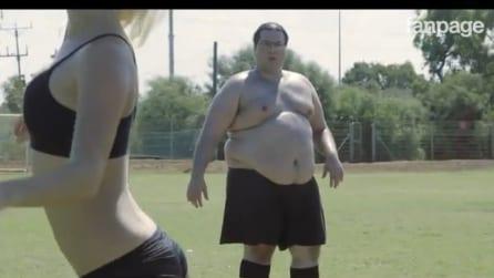 Uomini grassi vs modelle supersexy: chi vincerà la sfida?